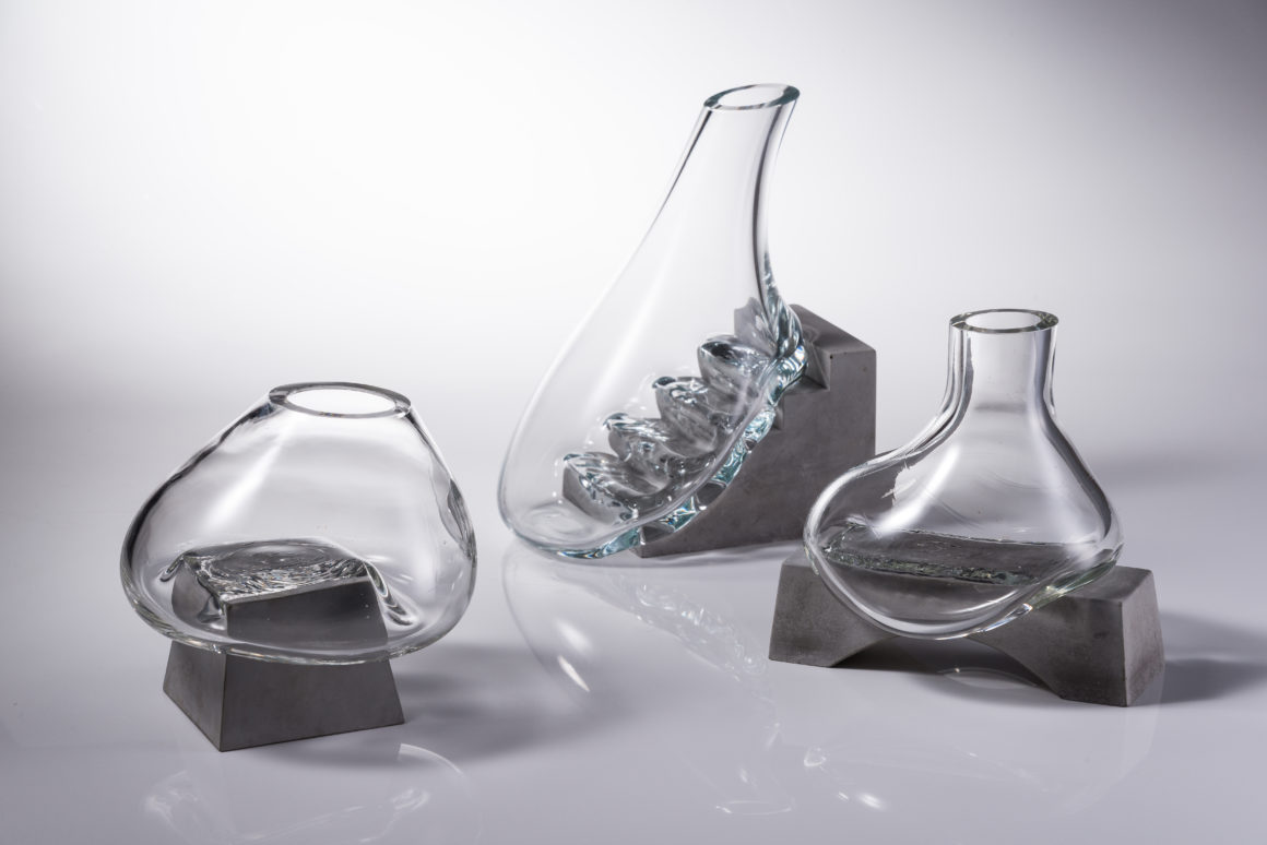 Blown glass by Ming-Fan Cheng